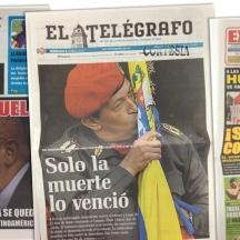 Aparece bien El Telégrafo, por la fuerza que le brinda al tema.