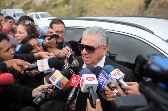 Luis Chiriboga lleva 16 años como presidente de la FEF. Foto: El Comercio
