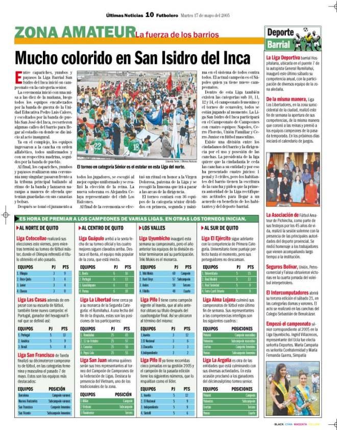 Liga San Isidro del Inca